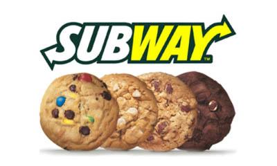 Free Subway Drink or Cookie