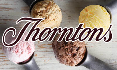 Two Free Thorntons Ice Creams of your Choice