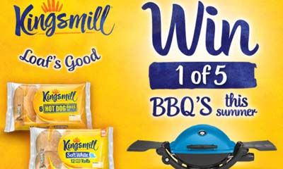 Win a Weber Barbecue with ASDA & Kingsmill