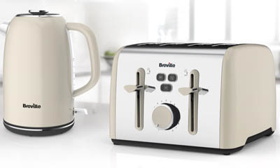 Free Breville Flow Kettle & Toaster Sets