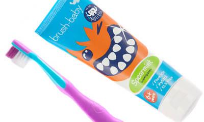 Free Brush-Baby Milk Teeth Toothpaste