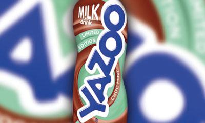 Free Chocolate Mint Yazoo Drink