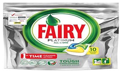 Free Fairy Platinum Dishwasher Tablets