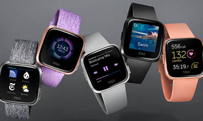 Free Fitbit Versa Smartwatch