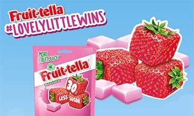 Free Fruitella Strawberry Sweets