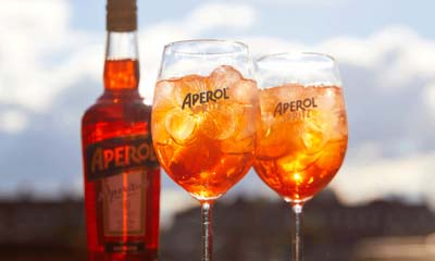 Free Glass of Aperol Spritz