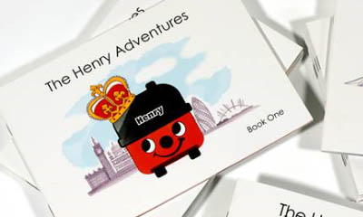 Free Henry Hoover Adventure Books