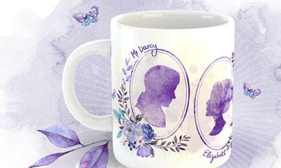 Free Jane Austen Mug