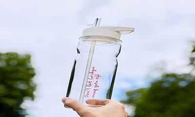 Free Love Island Water Bottle