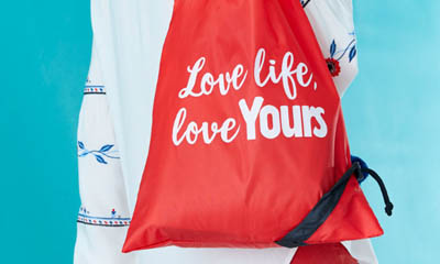 Free Love Life Tote Bag