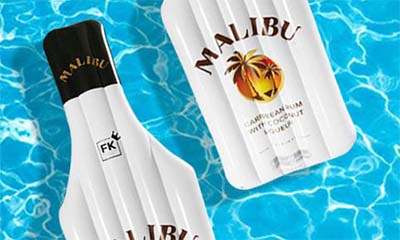 Free Malibu Bottle Lilos