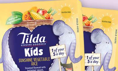 Free Packs of Tilda Kids Rice