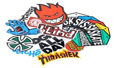 Free Skateboard Stickers