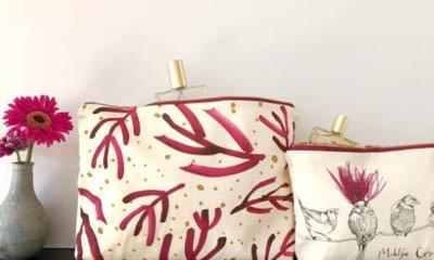 Win Anna Wright Wash & Make-up Bag