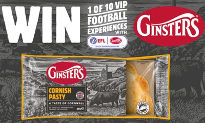 Win a Football league Experience with Ginsters