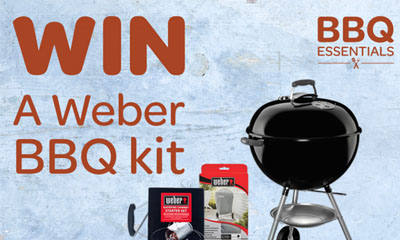 Win a Weber BBQ Kit with Spar