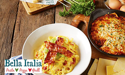 Free Bella Italia Meal – 2,000 Available!