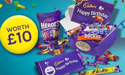 Free Birthday Chocolate Hampers from Cadbury