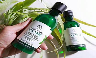 Free Body Shop Tea Tree Face Scrub