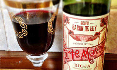 Free Bottle of Corte Mayor Rioja Wine