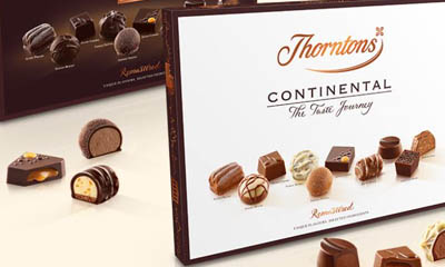 Free Box of Thorntons Chocolate