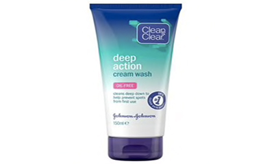 Free Clean & Clear Face Wash