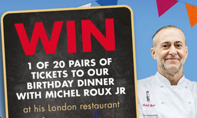 Free Dinner by Michel Roux JR