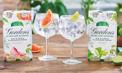 Free Gordons Ultra Low Gin
