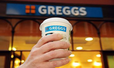 Free Hot Drink from Greggs