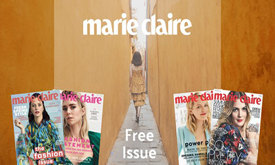Free Marie Claire Magazine