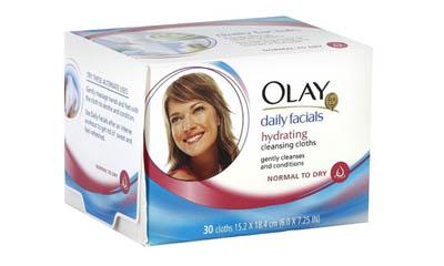 Free Olay Daily Facial Wipes