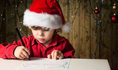 Free Santa Letter or Email For Blind And Partially Sighted Children