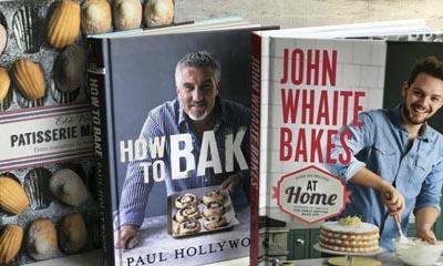 Win 3 Great British Bake Off Books