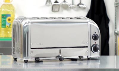 Win a Dualit 6 slot Classic Toaster