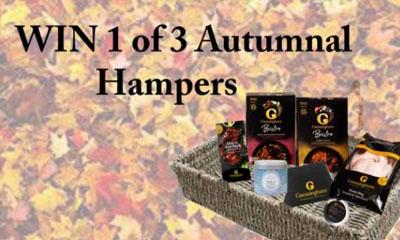 Win a Gressingham Duck Autumnal Hamper