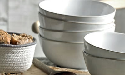 Win a Set of Denby Pottery Breakfast Bowls and Plates