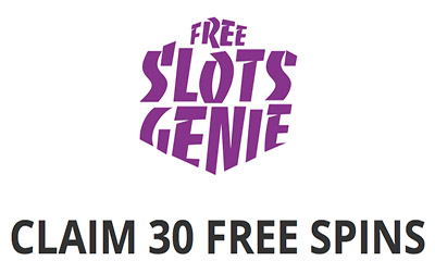 30 Free Spins with Slots Genie