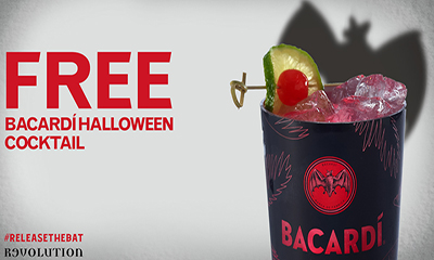 Free BACARDI Halloween Cocktail