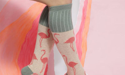 Free Catherine Tough Lambswool Socks