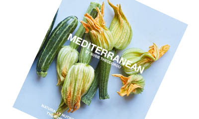 Free Copy of Mediterranean Cookbook by Susie Theodorou