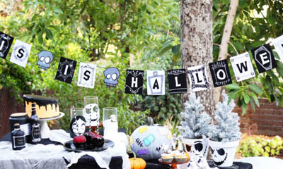 Free Disney 'This is Halloween' Banner