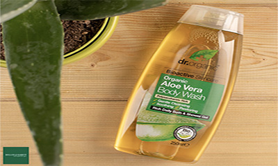 Free Dr Organic Aloe Vera Body Wash