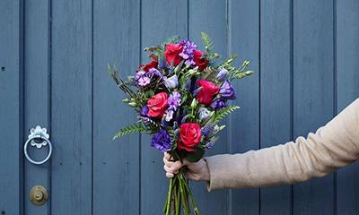 Free Flower Bouquet (Worth £22)
