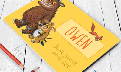 Free Gruffalo Notebook