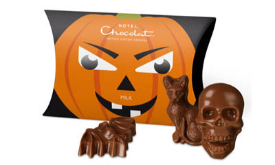 Free Halloween Caramel Chocolate from Hotel Chocolat