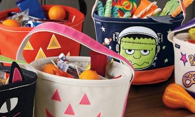 Free Halloween Tote Bucket Bags