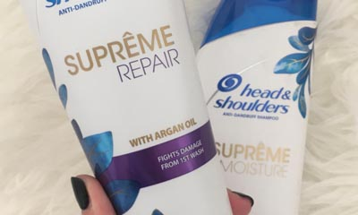 Free Head & Shoulders Supreme Repair Shampoo and Conditioner
