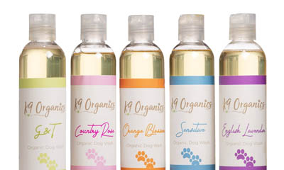 Free K9 Organics Dog Shampoo