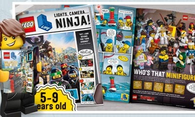 Free Lego Magazine for Children Aged 5-9yrs