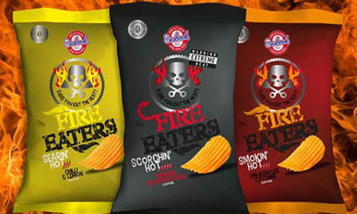 Free Packet of Spicy Seabrooks Crisps